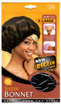 M&M HeadGear Qfitt Satin Bonnet X-Large