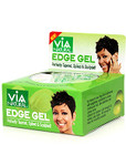 Via Edge Gel Argan & Olive Oils Hold & Radiant Shine 2 oz