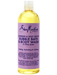 Shea Moisture Lavender & Wild Orchid Bubble Bath & Body Wash 16 oz