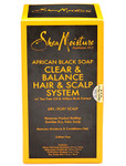 Shea Moisture African Black Soap Clear & Balance Hair & Scalp System
