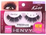 Kiss i ENVY 100% Human Pre Cut Eyelash Quattro 02, KPE63