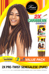 Femi 2X Pre Twist Senegalese Pure Caribbean Crochet