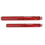 "BaByliss Pro Nano Titanium 1"" Ultra Thin Flat Iron FREE Iron Set Crimson"