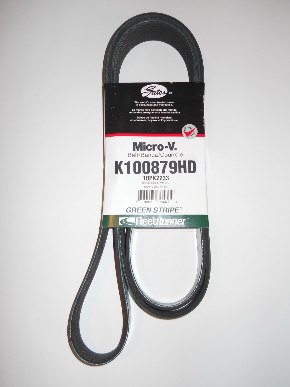 Gates K080734HD V-Belt
