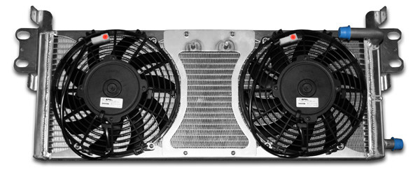 2007-2012 Shelby GT500 Dual Pass / Dual Puller Fan Air To Water Heat  Exchanger Kits