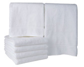 Majestic White Bath Towels