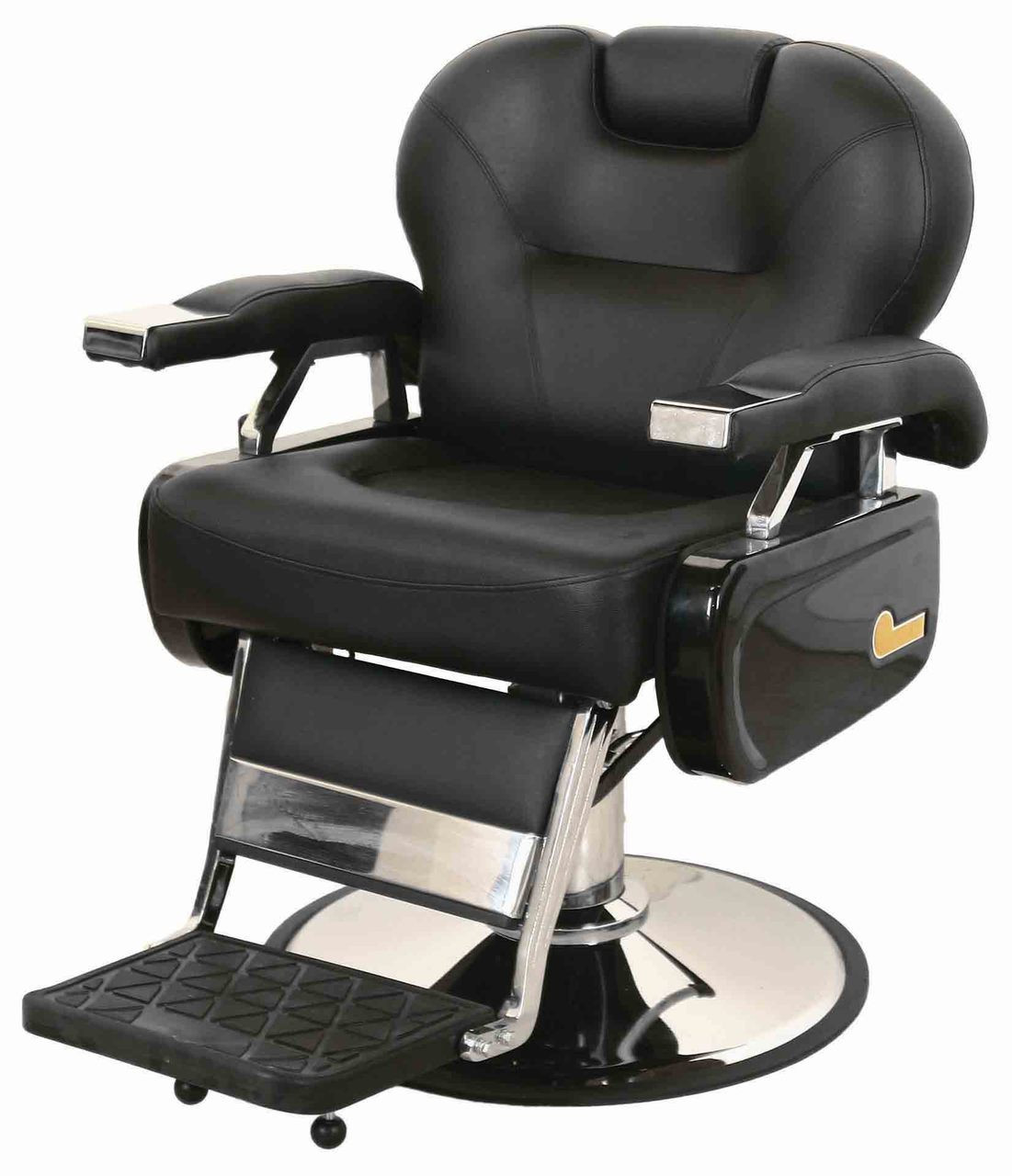 Extra Wide Barber Chair. Image 1. Loading Zoom
