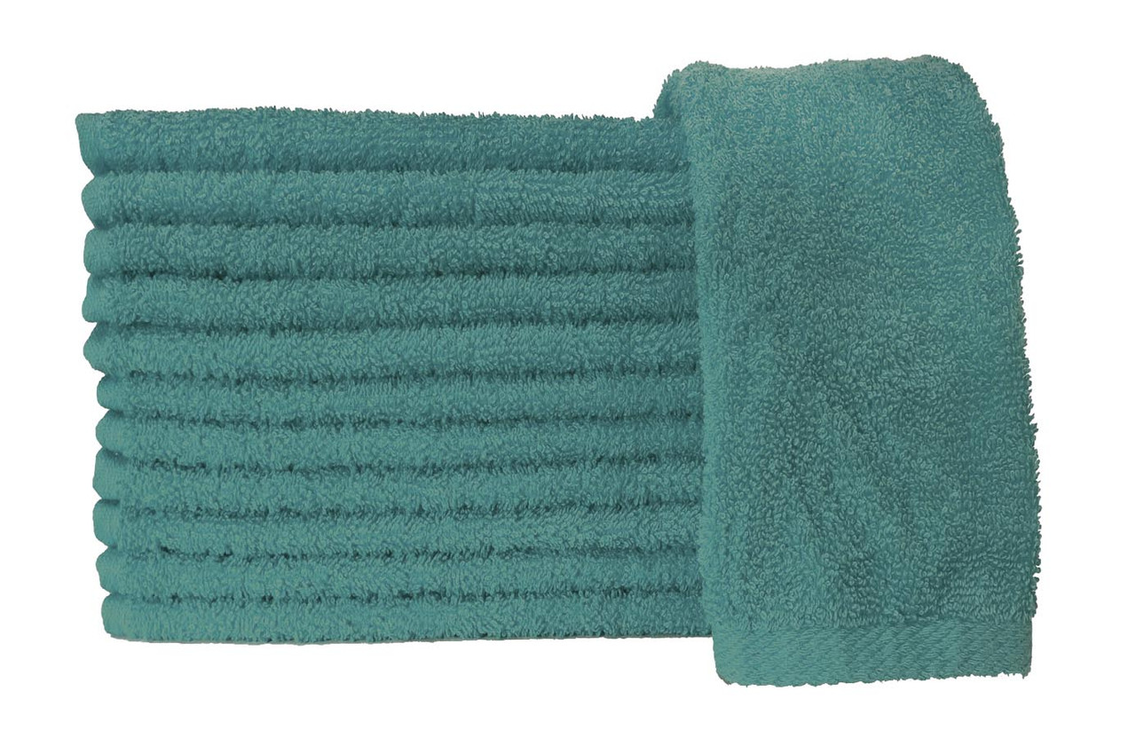 Budget Hand Towels - Teal Inventory Reduction