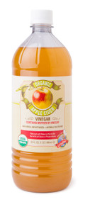 Organic Raw Apple Cider Vinegar - 32oz.