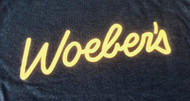 T-shirt - Navy with Gold Print