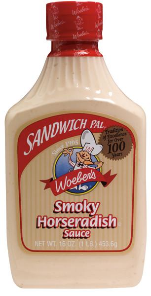 Smoky Horseradish Sauce - 16oz. - Woeber Mustard Online Store