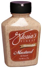 Gloria's Horseradish Mustard - 9oz.