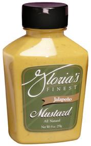 Gloria's Jalapeno Mustard - 9oz.