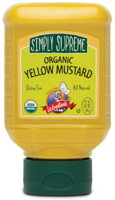 Simply Supreme Organic Yellow Mustard - 10oz.