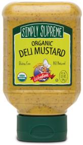 Simply Supreme Organic Deli Mustard - 10oz.