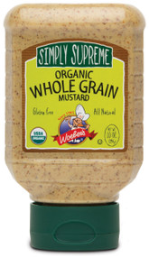 Simply Supreme Organic Whole Grain Mustard - 10oz.