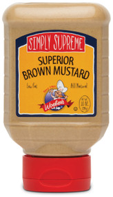 Simply Supreme Superior Brown Mustard - 10oz.