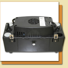 96 gph condensate pump for use with a variety of different dehumidifiers.