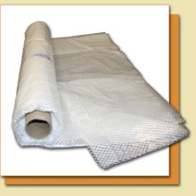10 Mil Reinforced Translucent Crawl Space Liner - 4' X 100' Roll