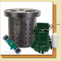Sump Pump Package (Zoeller M53 Pump, Basin, Valve)