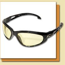 The Edge Dakura - Yellow with Vapor Shield Safety Glasses