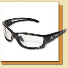 The Edge Kazbek - Clear with Vapor Shield Safety Glasses