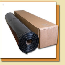 6 mil Non-Reinforced Poly Liner (Black)