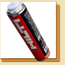 Includes: 3 Cases of 12 each - Hilti Crack & Joint Foam (23oz)  1 - Hilti CF-DS1 Foam Dispenser