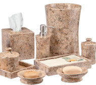 Fossil Stone Bath Accessories