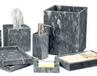 Castle Grey Stone Bath Accessories