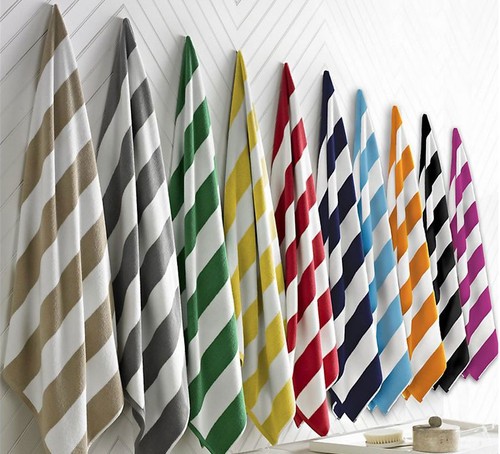 Striped Beach Towel Collection