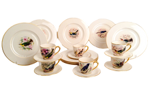 Lenox Hand Painted  Dessert Set