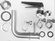 #RP1BH - Racking Port Kit 1.5 in. w/ Bulk Head Fitting