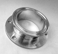 2 TC 6 Hole Flange Fitting