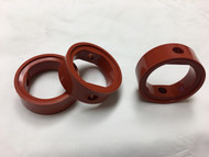 """Silicone Seats for 2"""" Stainless Steel Butterfly Valves"""