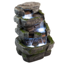 "22"" Wilson Rock Fountain w/LED Lights"