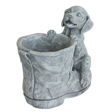 Puppy & Boot Planter