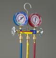 """MANIFOLD With 60"""" PLUS II™ standard fittings, psi, R22/404A/410A, °C (clamshell)"""