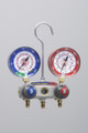 TITAN™ 4-Valve Test and Charging Manifold (Manifold only), R/B gauges, bar/psi, R410A -  F