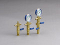"3/8"" SUPEREVAC MANIFOLD-Single valve with lo-side gauge mount with 3/8"" Female flare (middle one Only)"