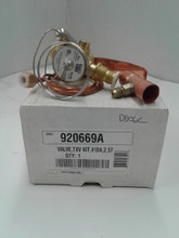 Nordyne 920669A TXV Valve Kit R410A 2.5 Ton.  Free freight on this item in the continental U.S. Items are new and unused in original box.  Please message me with questions. I ship nationwide. Check out my other online items.  Minnesota residents will be charged sales tax.