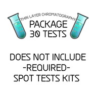 Thirty (30) Use TLC Kit - Does Not Include REQUIRED Spot Test Kits