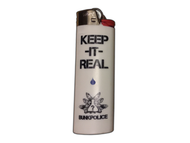 """Keep It Real"" Bic Lighter"