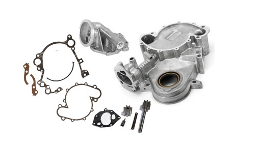 timing chain cover kit jeep v8 amc 360 401 gw 1974