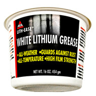 AGS 16-OZ TUB WHITE LITHIUM GREASE LUBE # WL-15