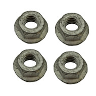 Rear Bumper Guard 4-Pc Mounting Nut Set OEM GW 1981-1991