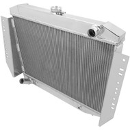 3 ROW ALUMINUM RADIATOR