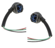 PAIR OF HIGH TEMPERATURE HEADLIGHT SOCKETS