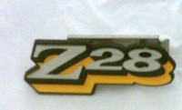 1978 CAMARO Z28 GRILL EMBLEM 3 COLOR EMBLEM ORANGE / YELLOW