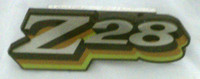 1978 CAMARO Z28 GRILL EMBLEM 3 COLOR GOLD GREEN